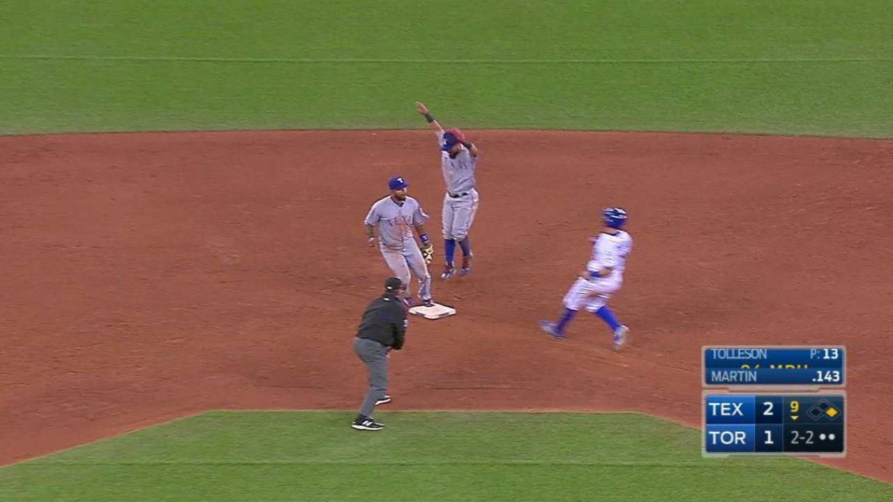 Tolleson notches the save