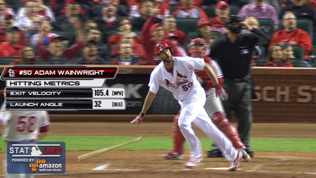 Statcast: Waino's clutch homer