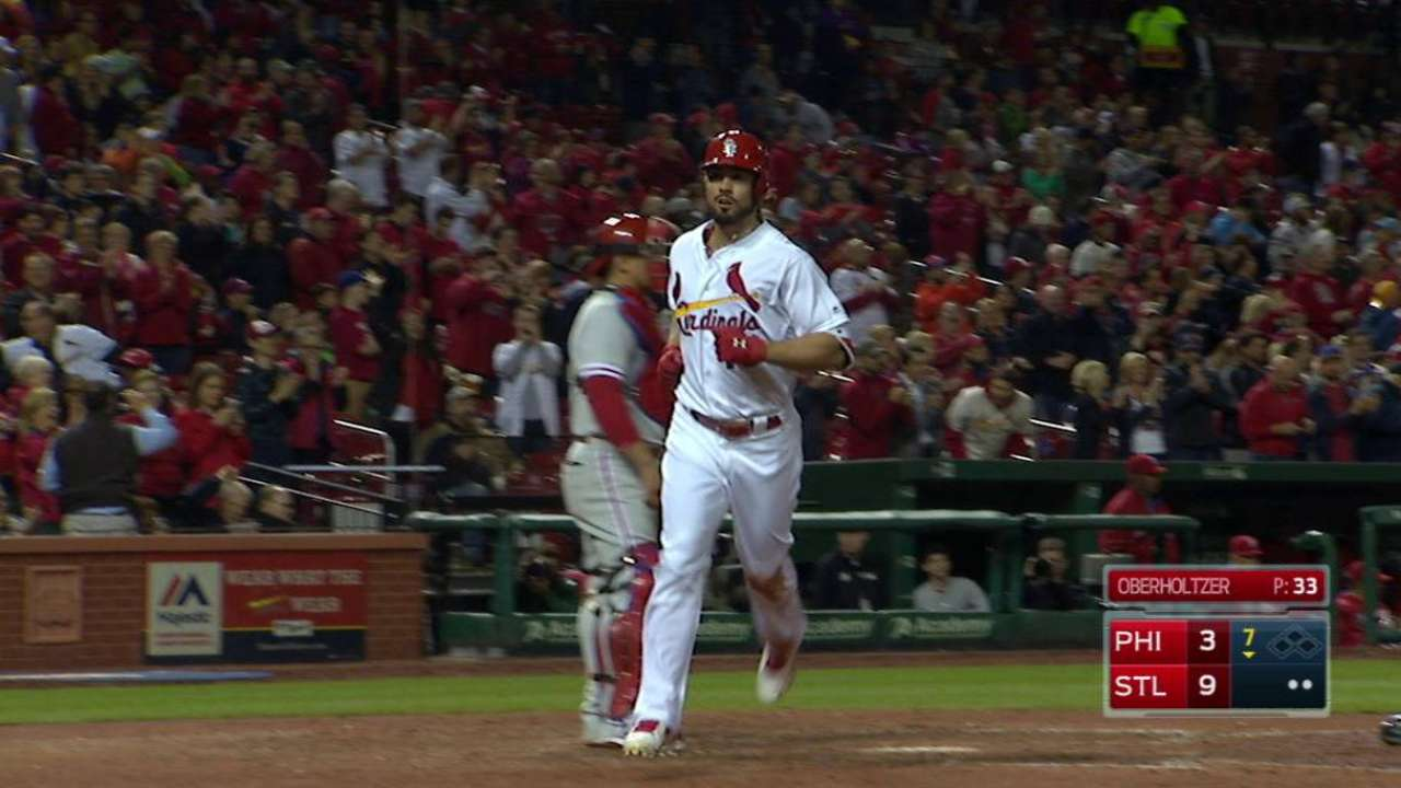 Cards hoping Grichuk's bat coming around