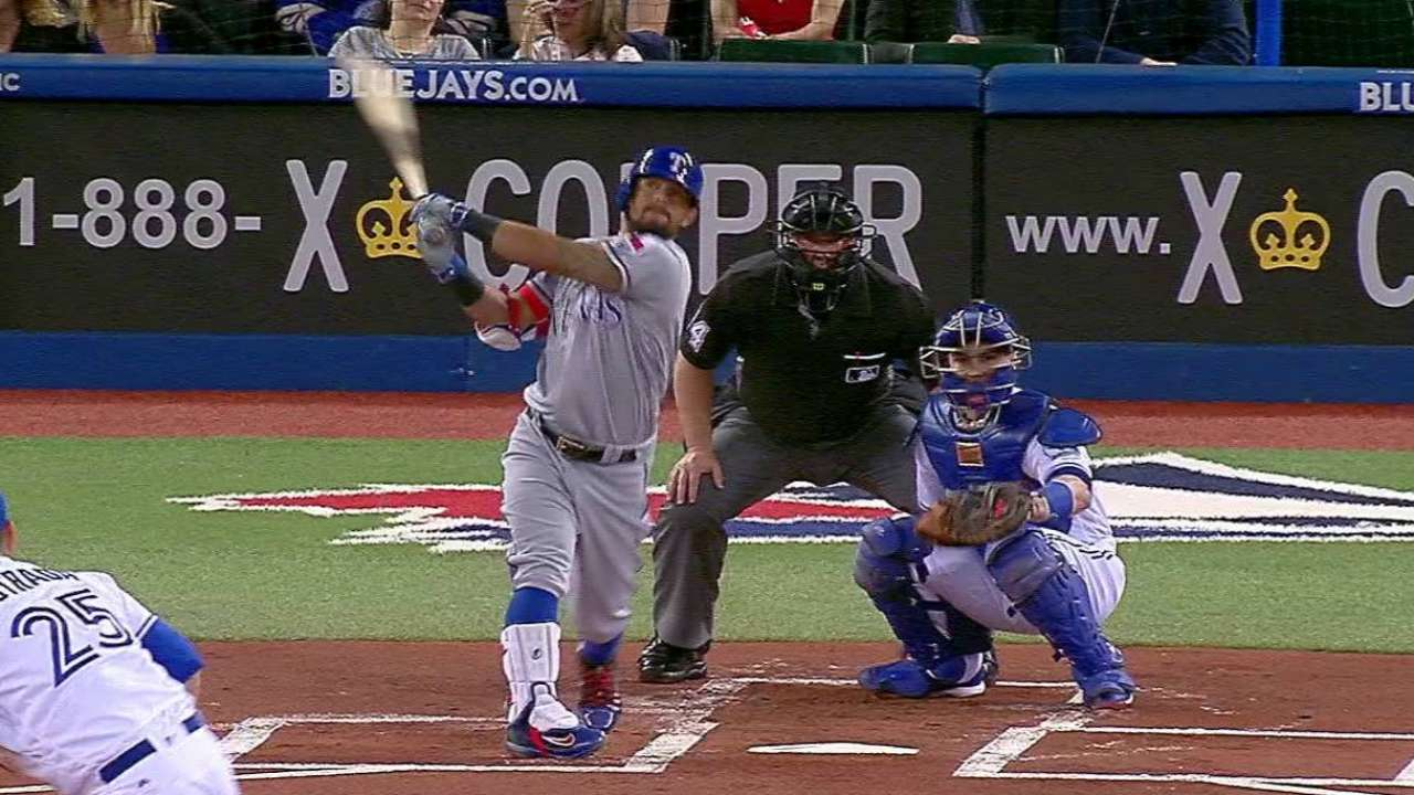 Rangers lose late lead, fall in 10th