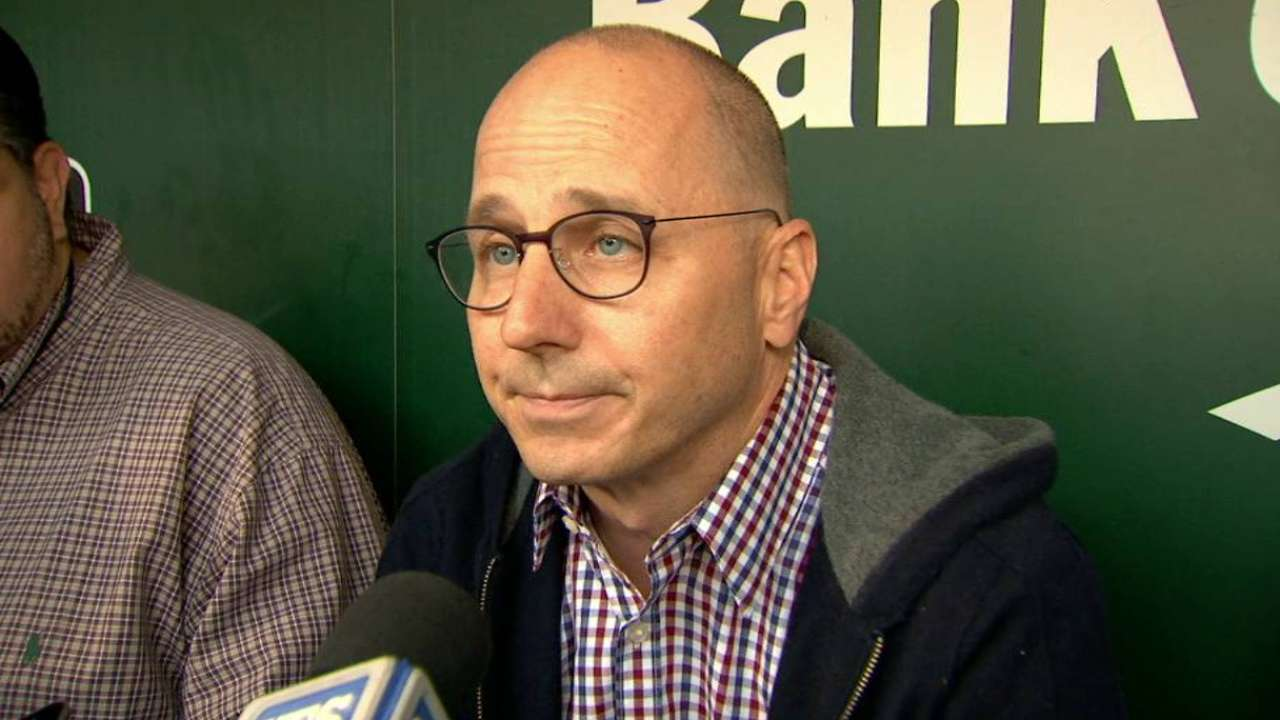 Cashman: Coaching staff not to blame for skid