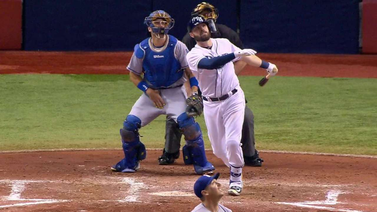Casali shows signs of being answer at catcher