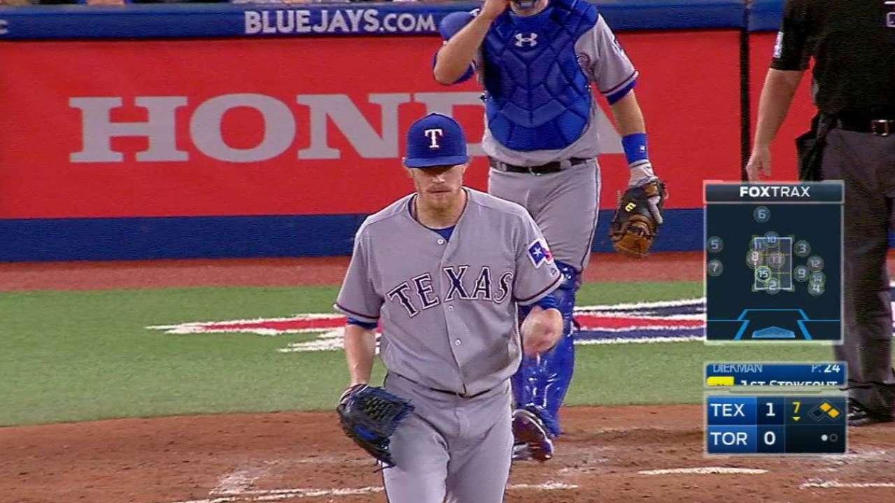 Diekman wins 15-pitch at-bat