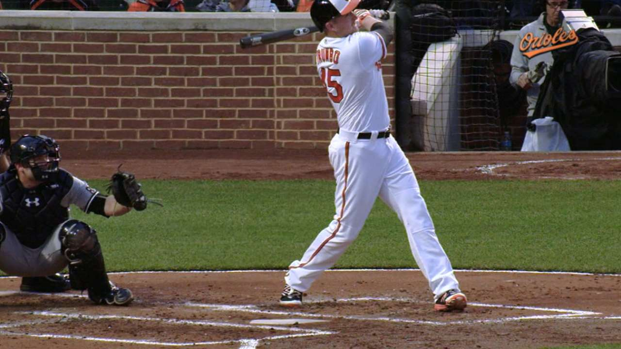 Trumbo's two-home run game