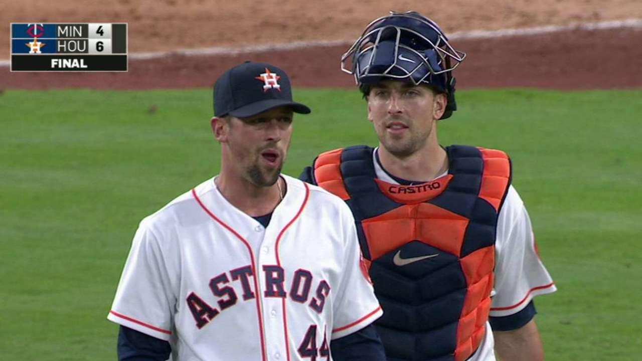Astros' bullpen hitting its stride