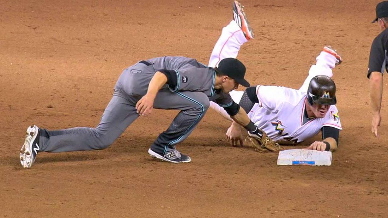 Bour dislocates finger on slide into second
