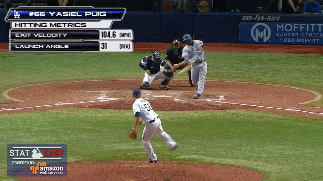 Statcast: Puig's long home run