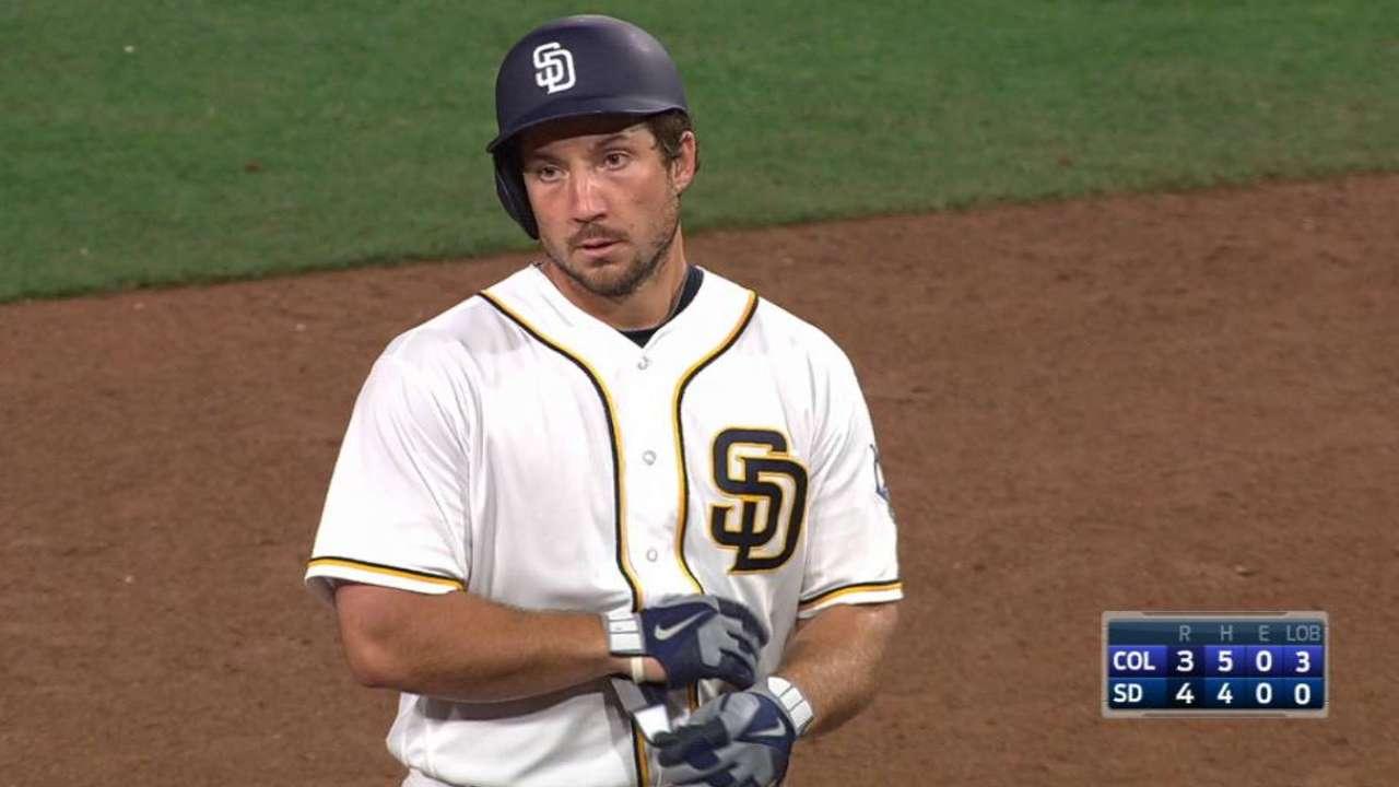 Wallace leads way as Padres stun Rockies