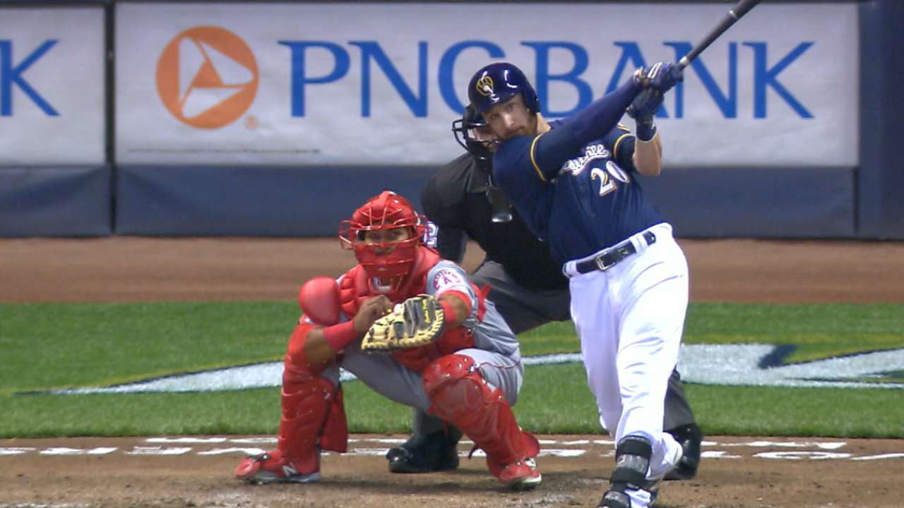 Lucroy, Carter go back-to-back