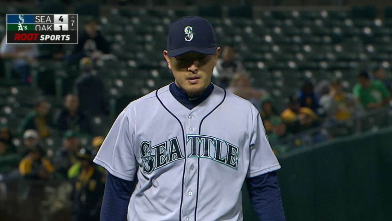 Iwakuma fires efficient gem in long-awaited win