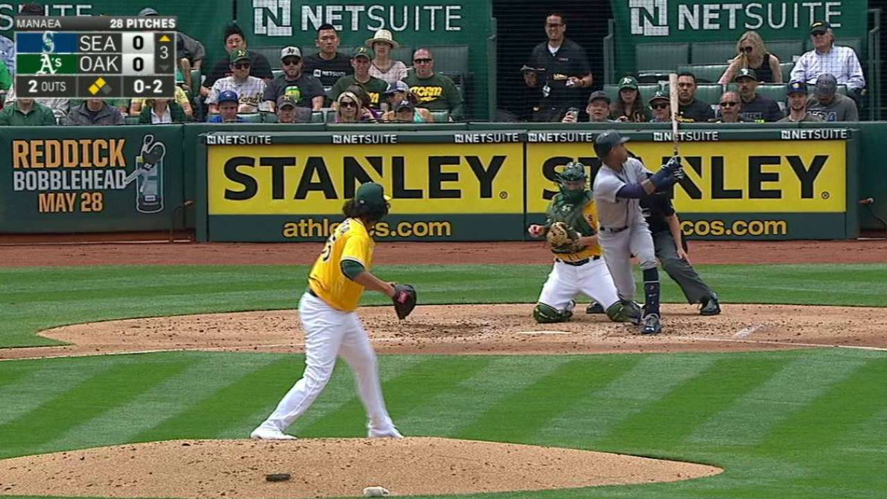 Manaea gets out of a jam