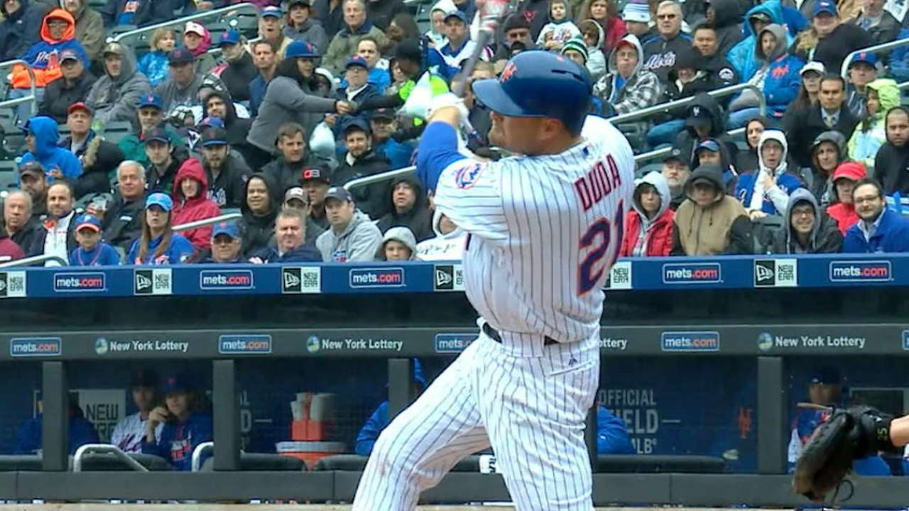 Must C: Duda smacks two homers