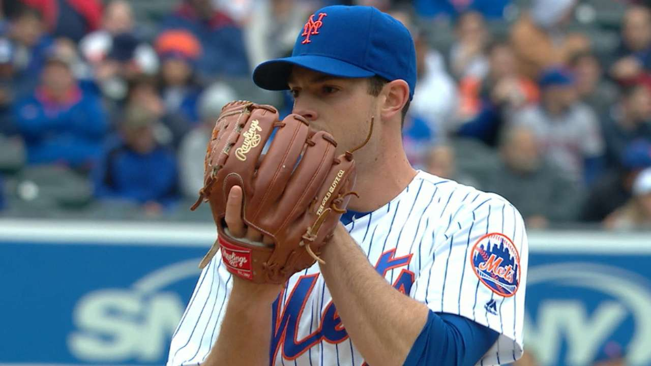 Matz's solid outing in the rain