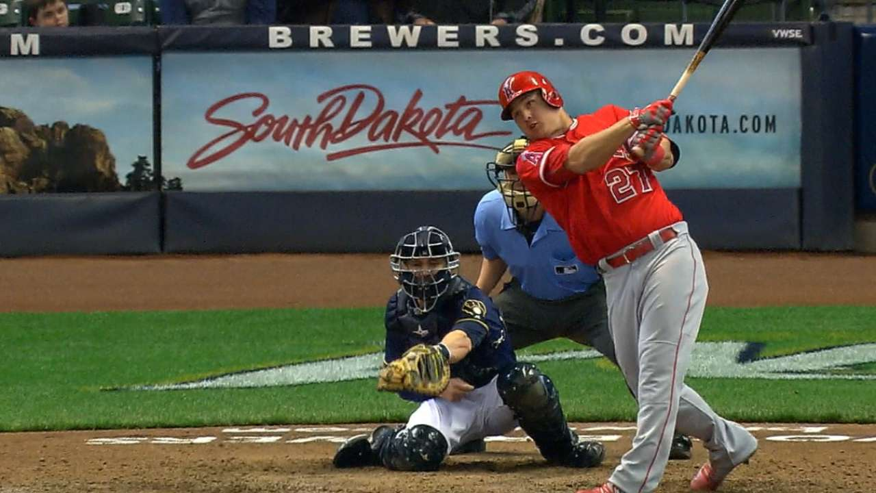 Call it a comeback: Angels rally to beat Brewers