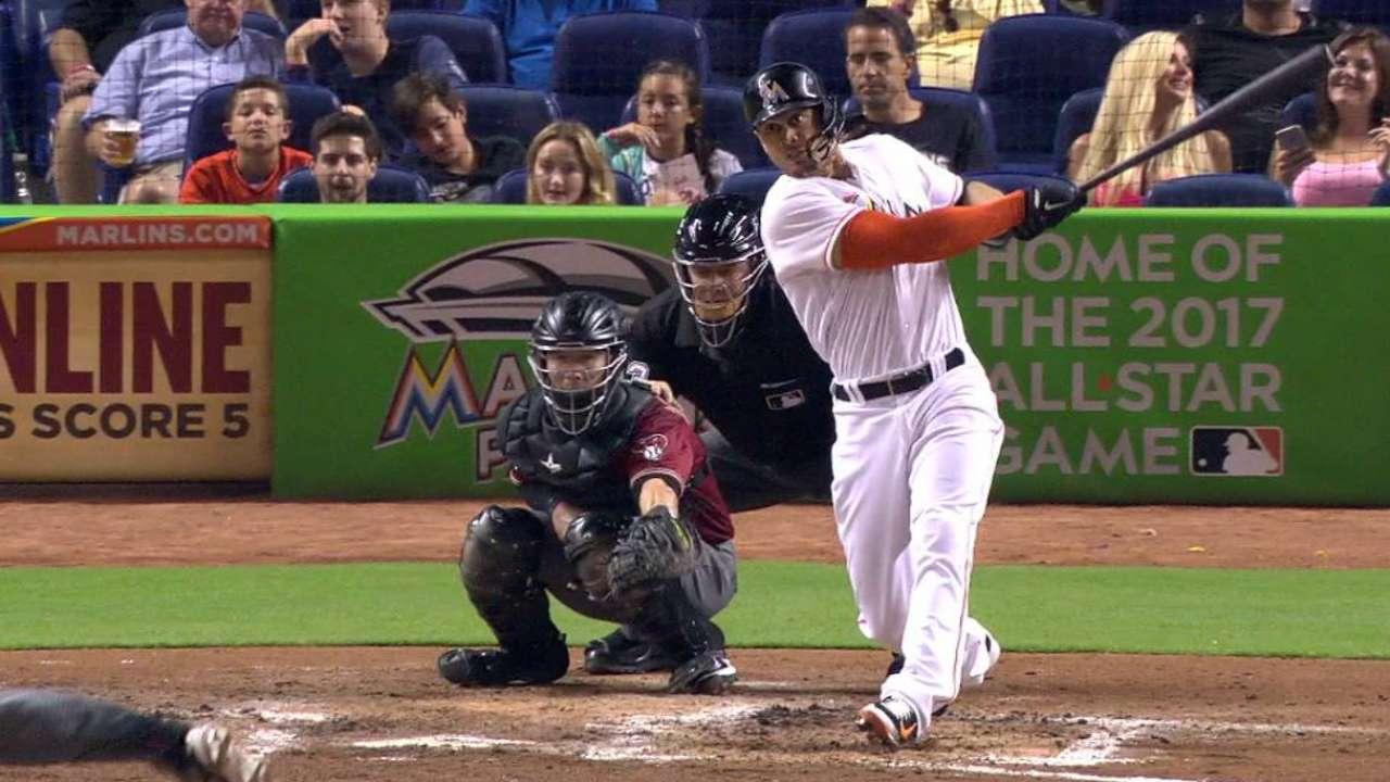 Stanton's ninth home run