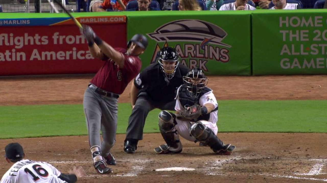Peralta's two-run home run