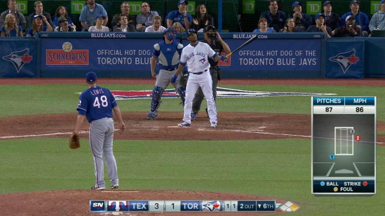 Encarnacion's two-run home run