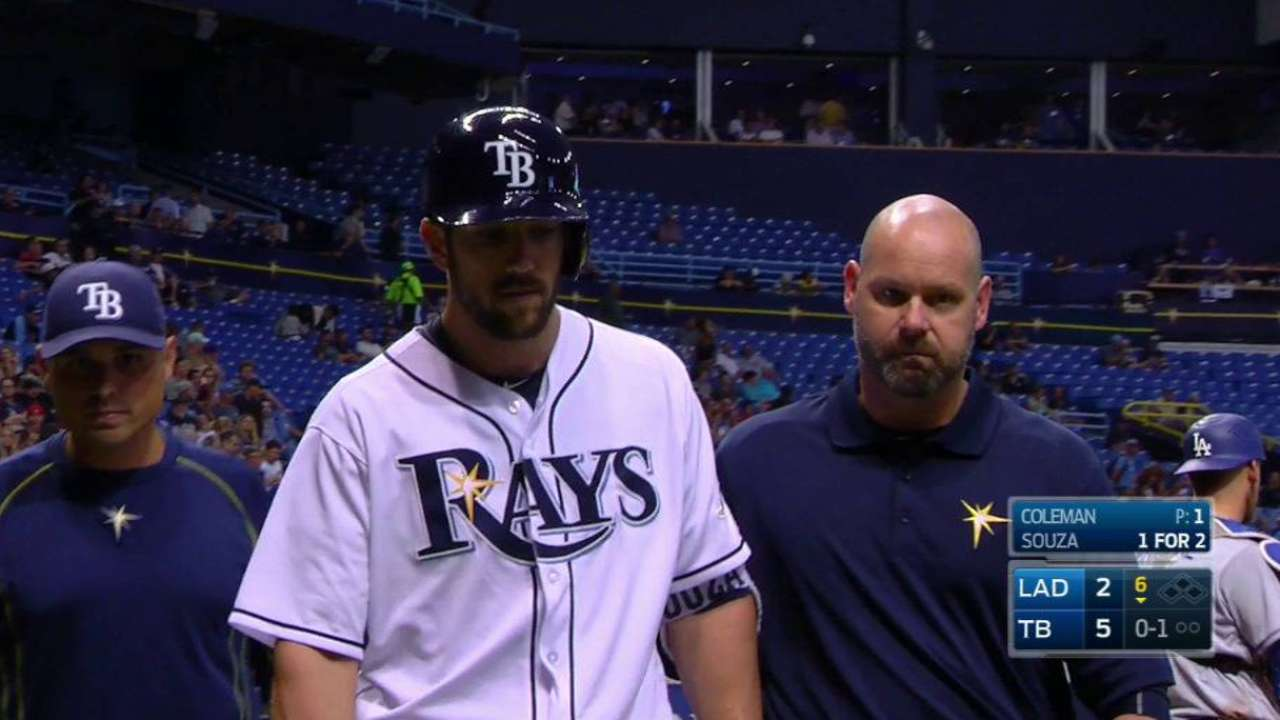 Souza expects to play Friday after early exit