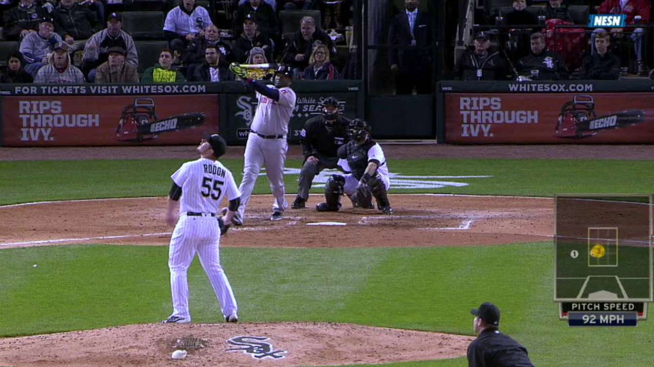 Ortiz's two-run moonshot