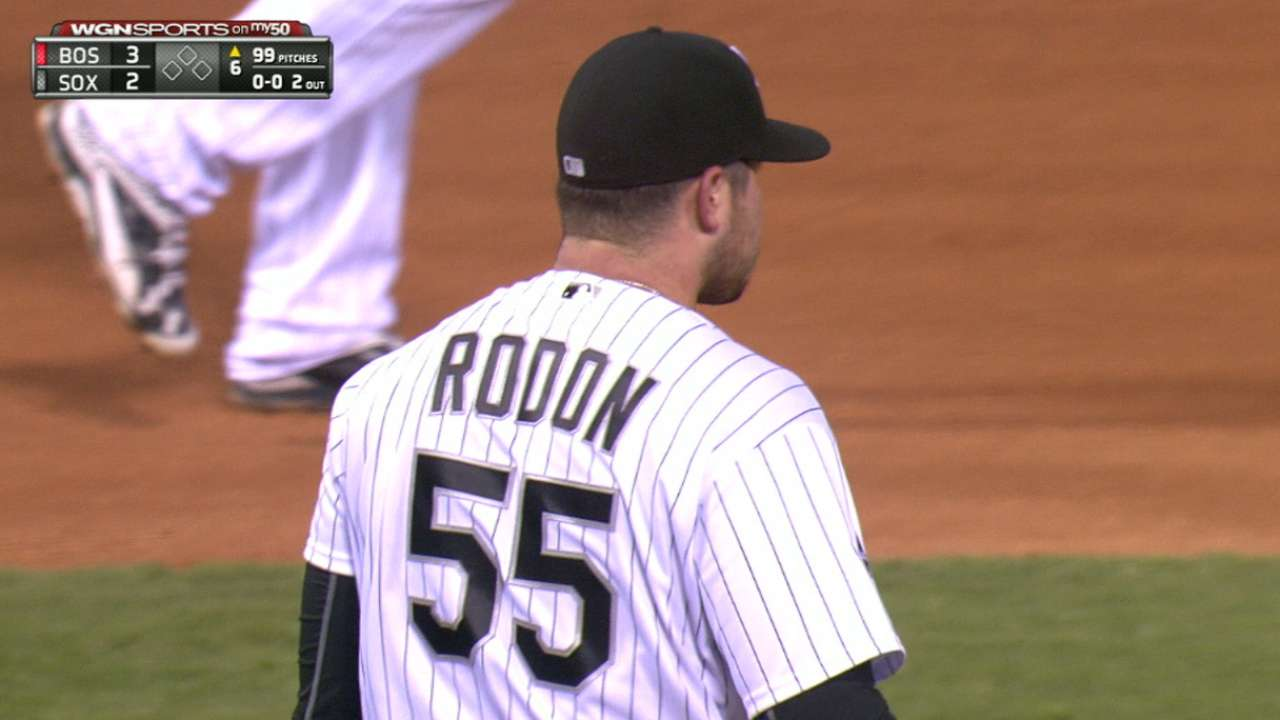 Rodon tips cap to Ortiz after tough loss