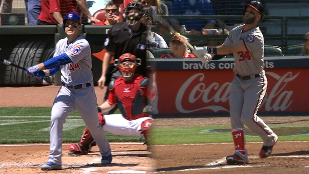 Cubs, Nationals face-off