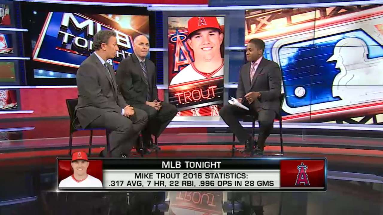 MLB Tonight: Mike Trout