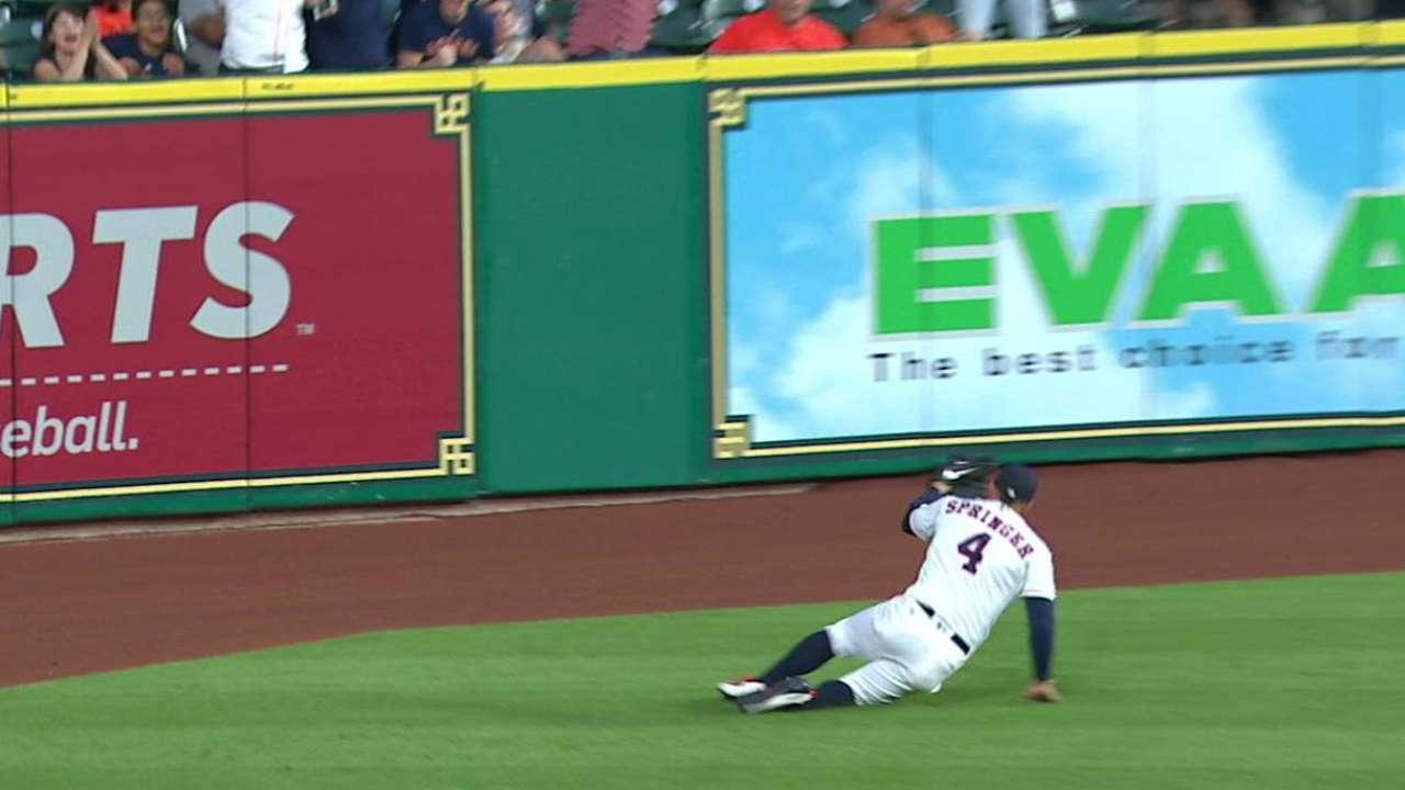 Springer's great catch