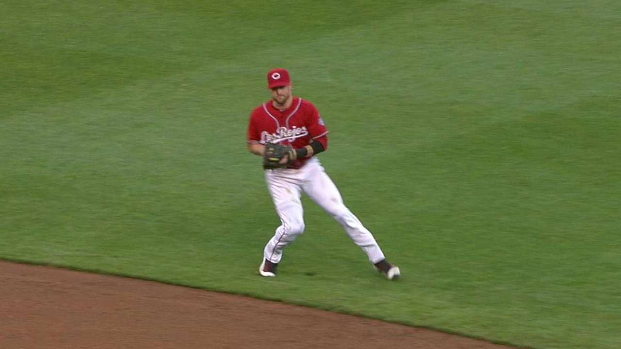 Cozart flashes some leather