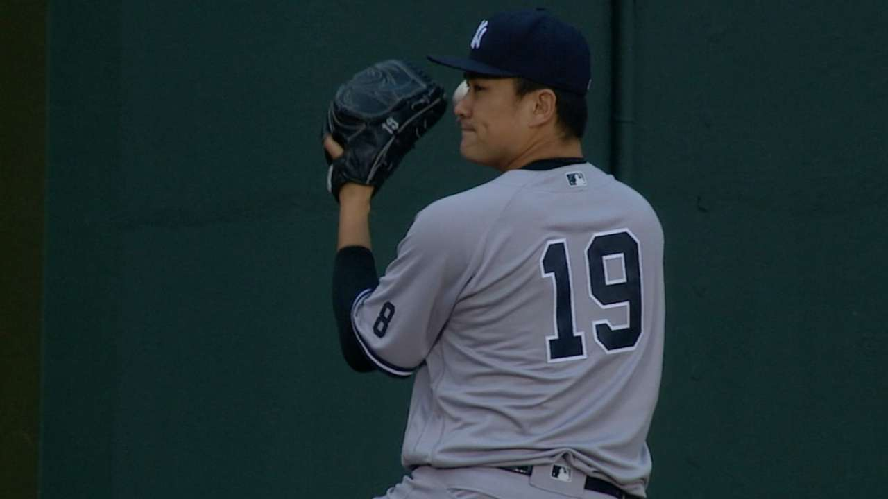 A string of zeros, but no win for Tanaka