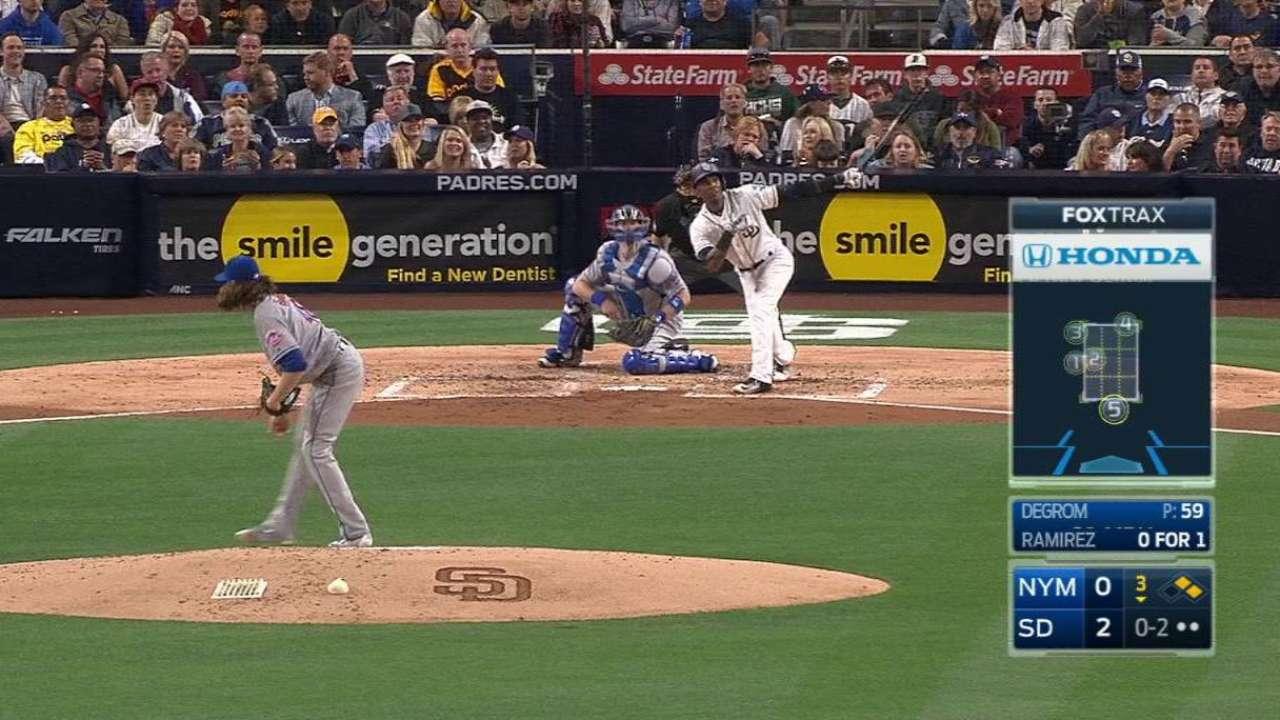 Colin Rea coqueteó con no-hitter en triunfo de Padres sobre Mets