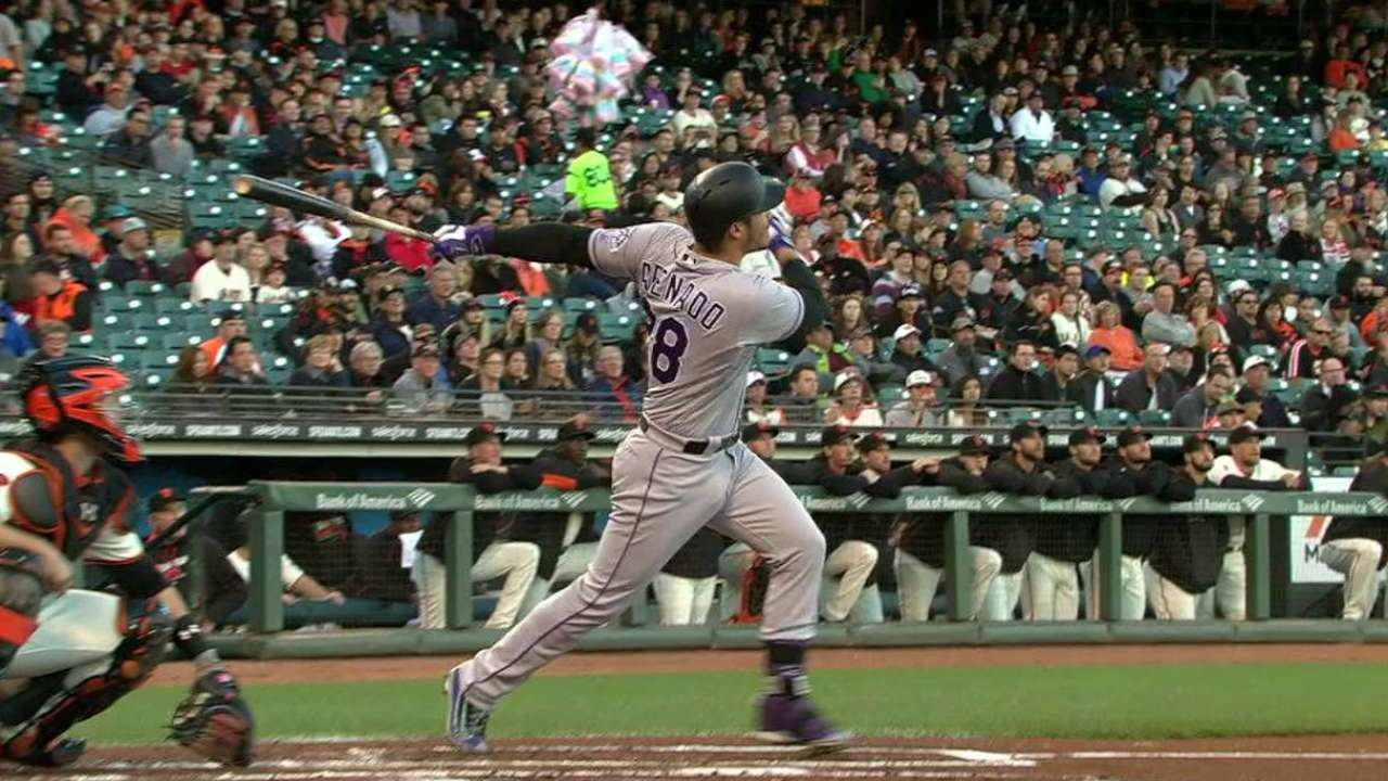 At home, Arenado could hit lucky HR No. 13