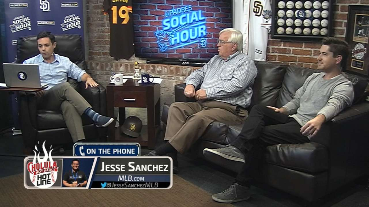 Padres Social Hour: Jesse Sanchez