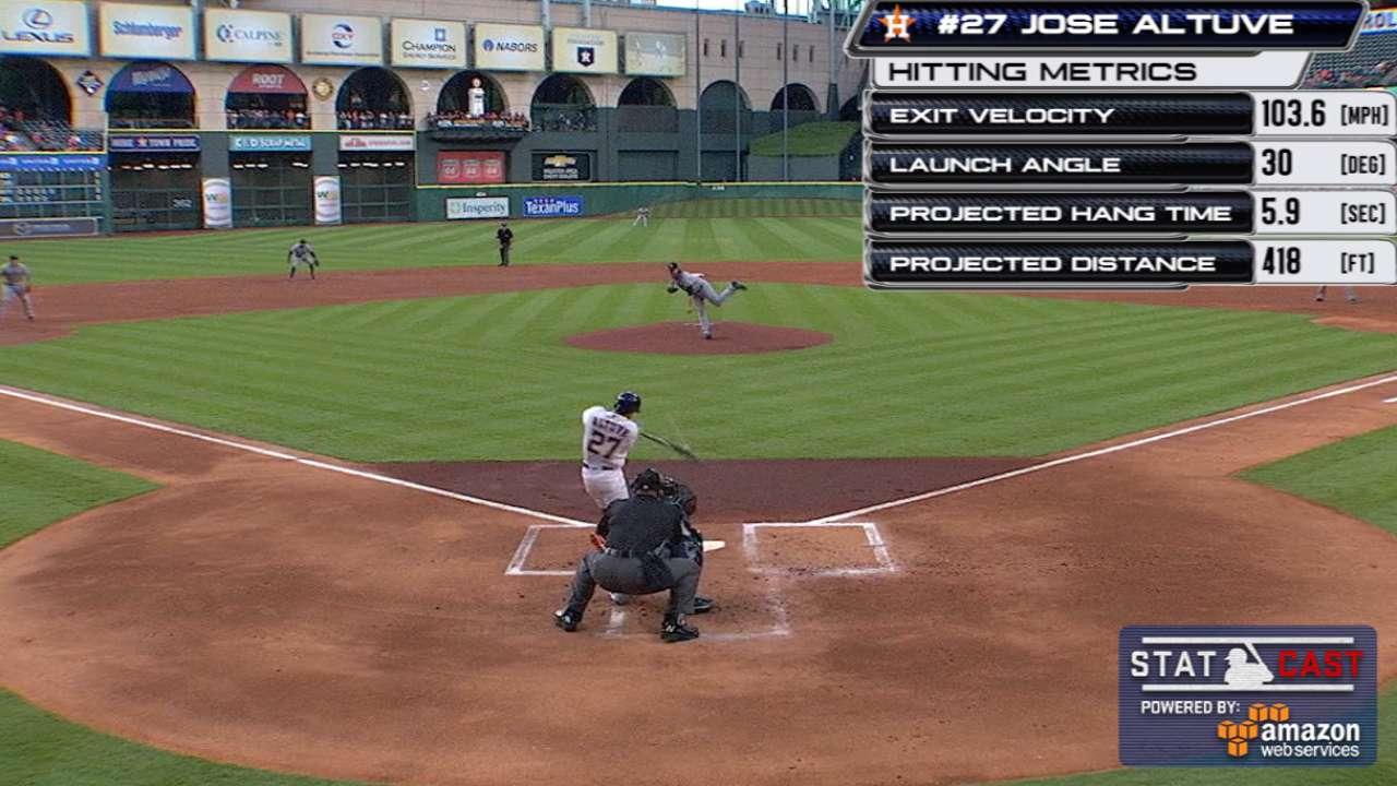 How Altuve became MLB's unlikeliest slugger