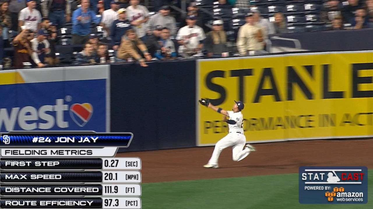 Statcast: Jay's amazing catch