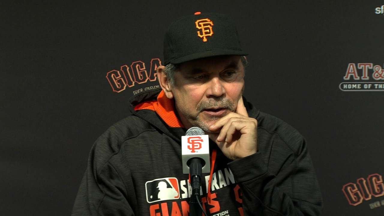 Bochy believes Cain can get back on track