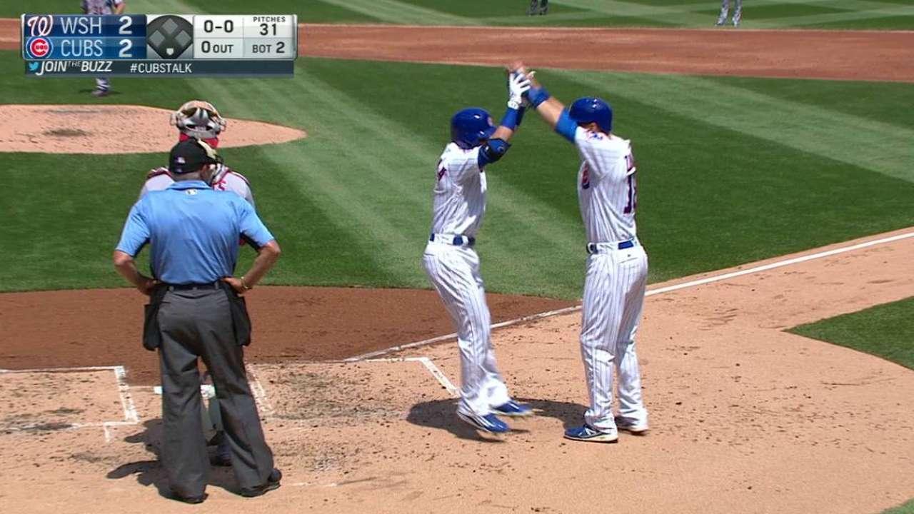 La Stella's two-run homer