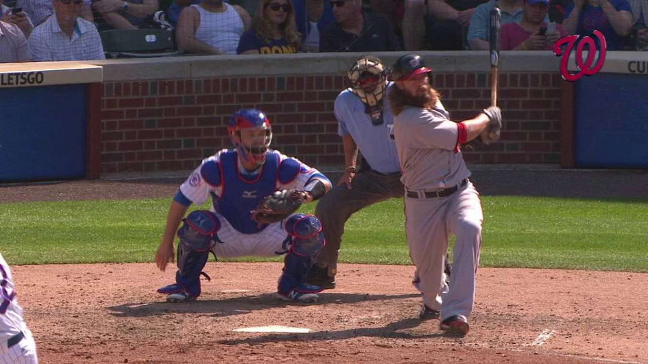 Werth's two-run double