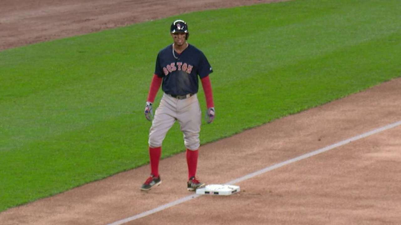 Red Sox on track to set record for basestealing efficiency
