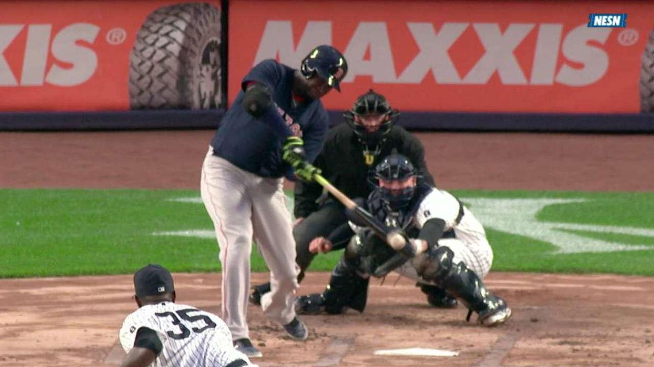 Ortiz's two-run home run