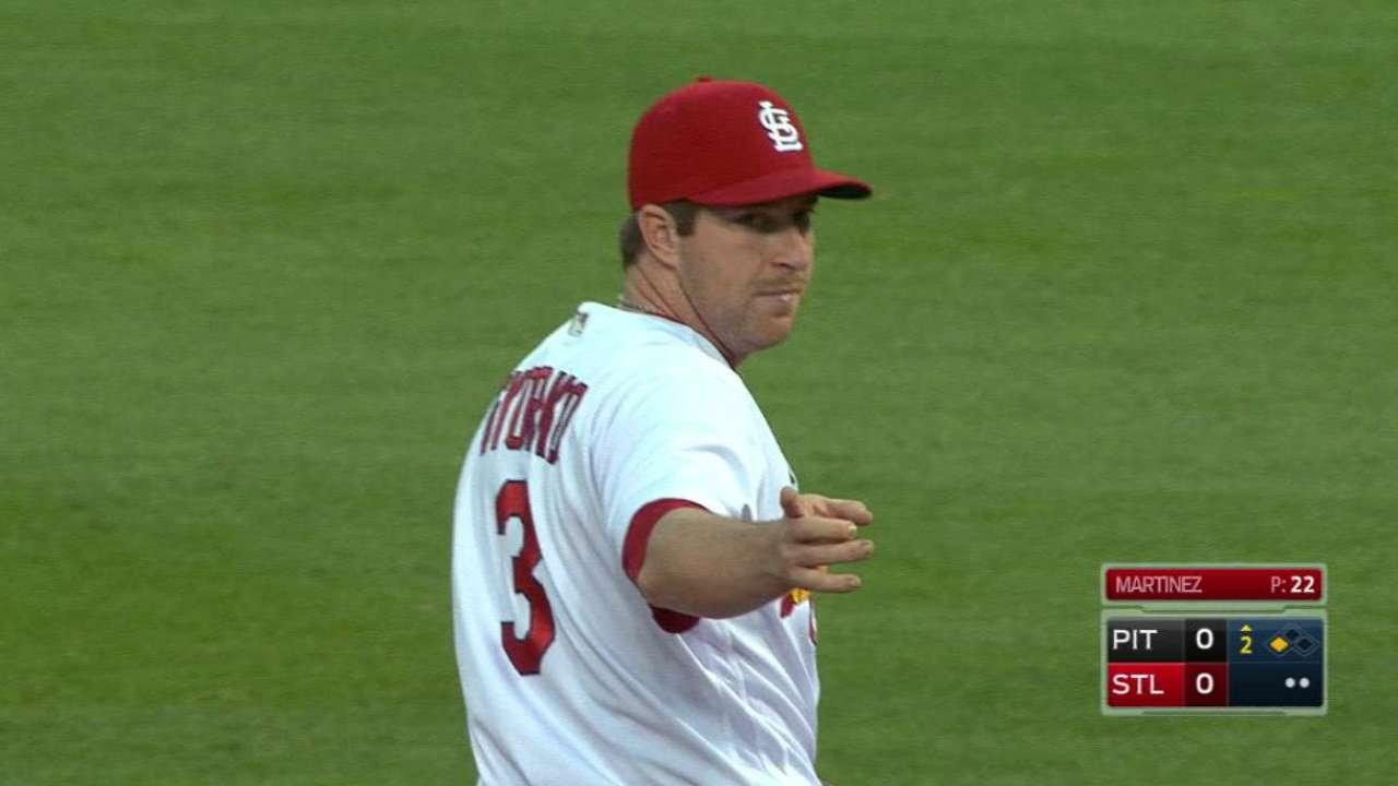 Martinez induces double play