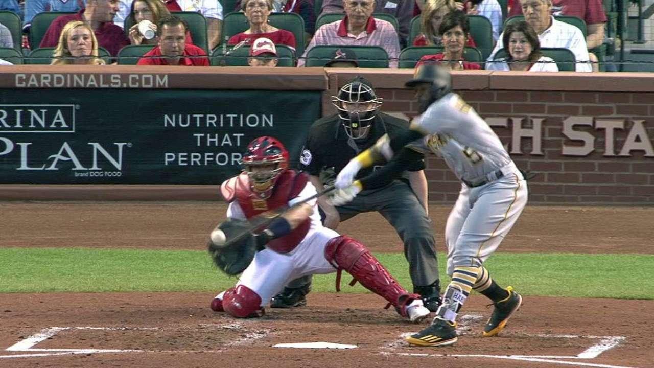 Harrison's broken-bat RBI single