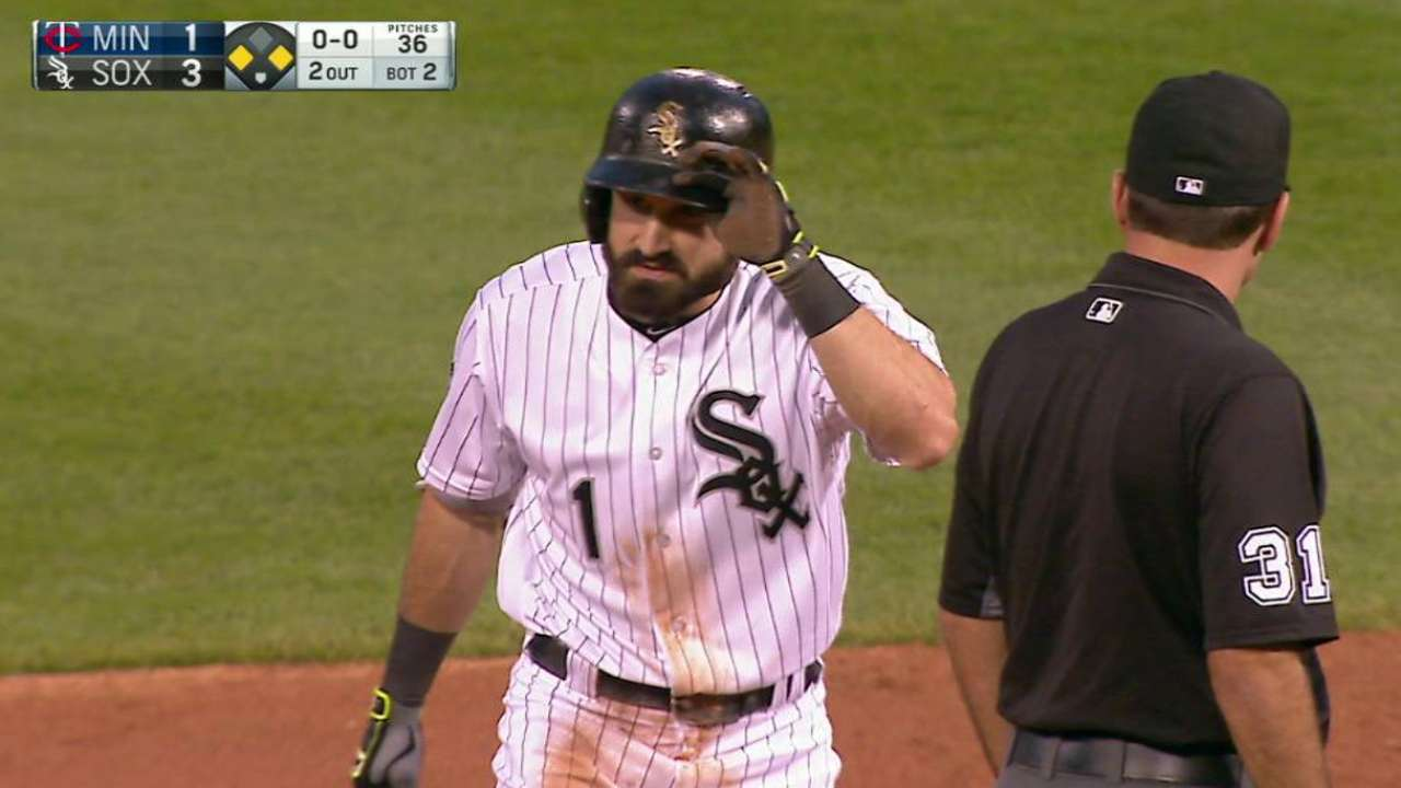 White Sox staying grounded despite healthy lead
