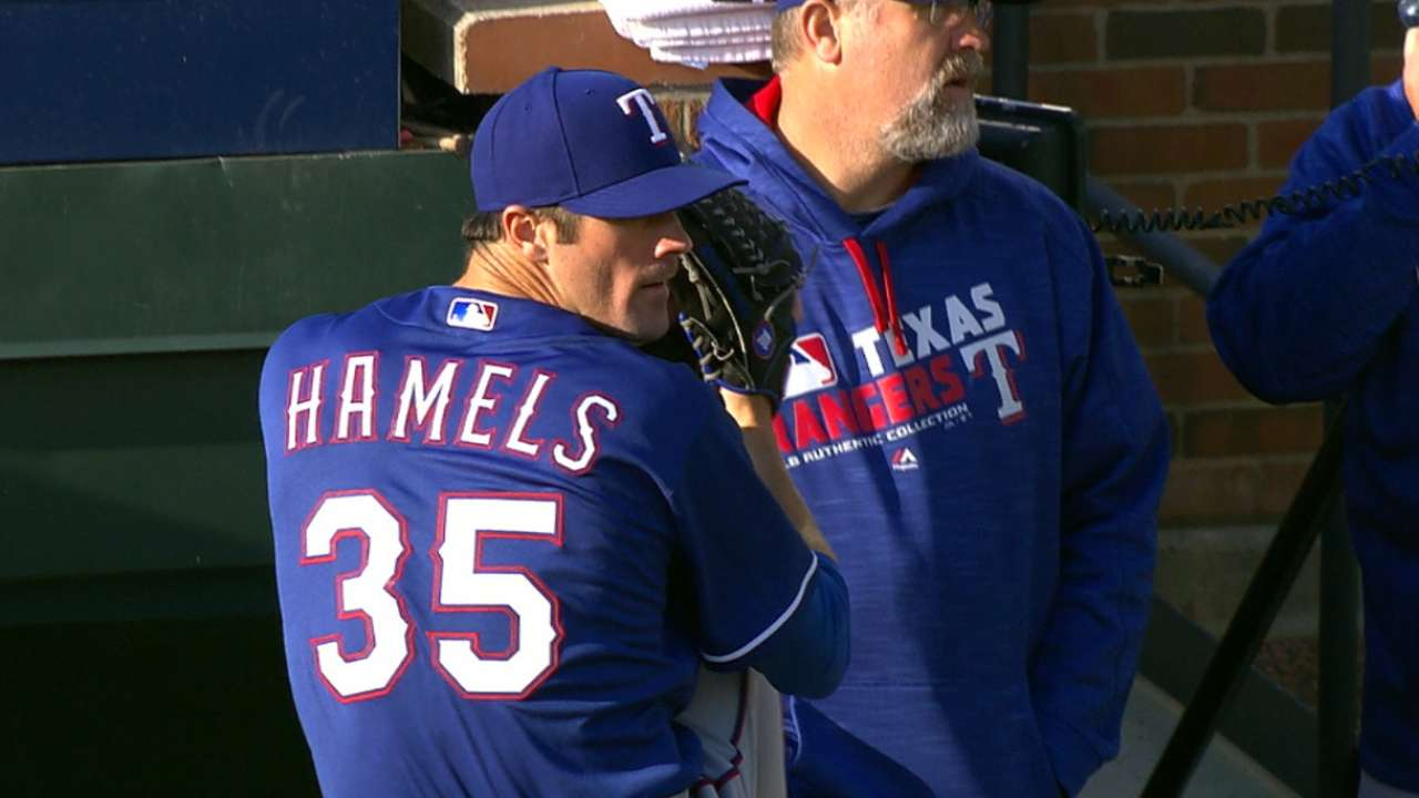 Hamels dominates by working ahead all night