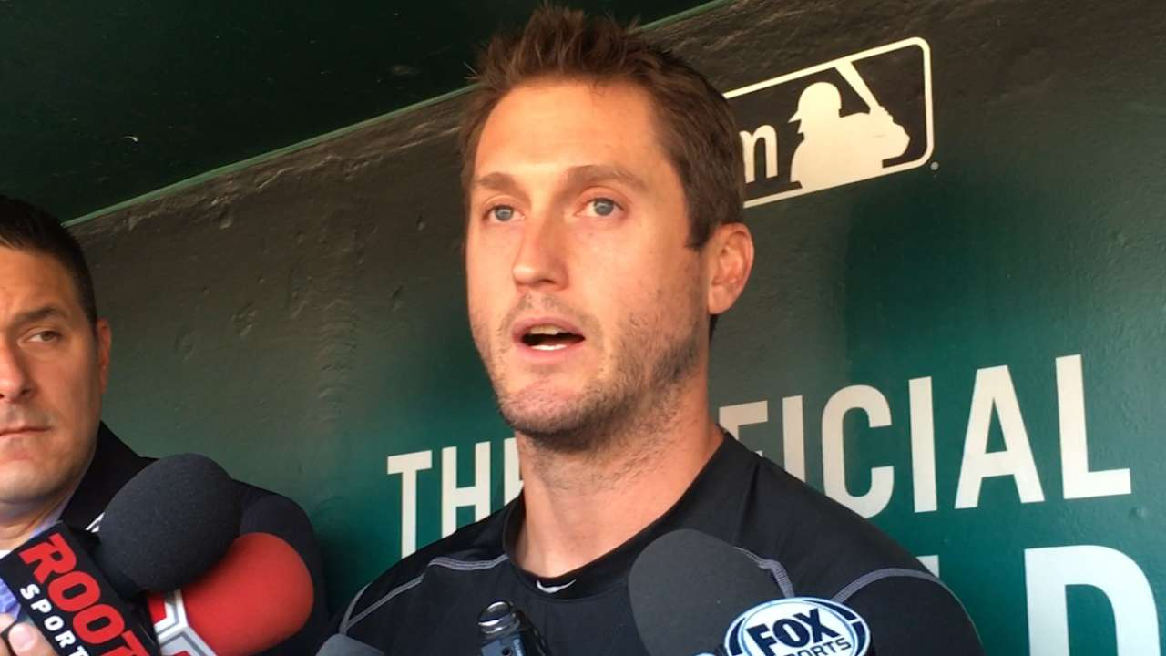 Freese makes first return to St. Louis since exit