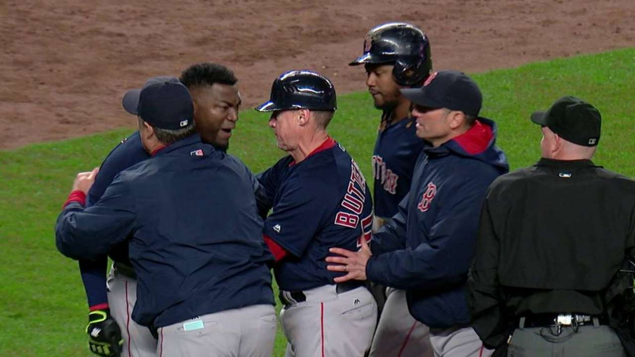 Ortiz's ejection