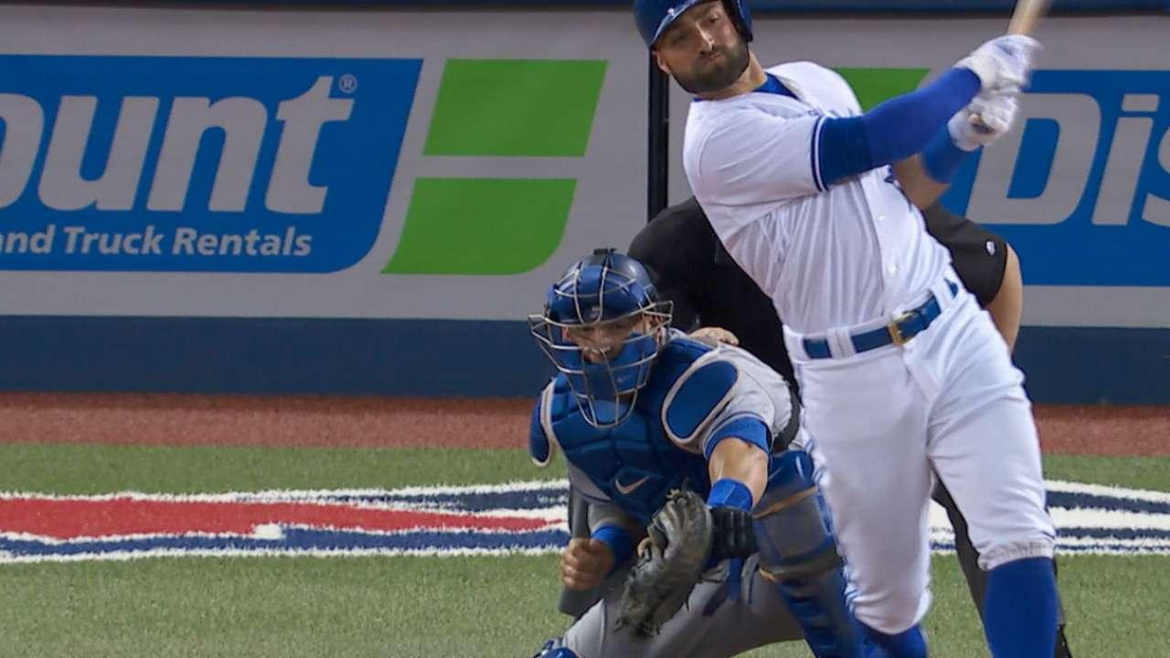 Pillar's 3-run HR lifts Blue Jays over Dodgers