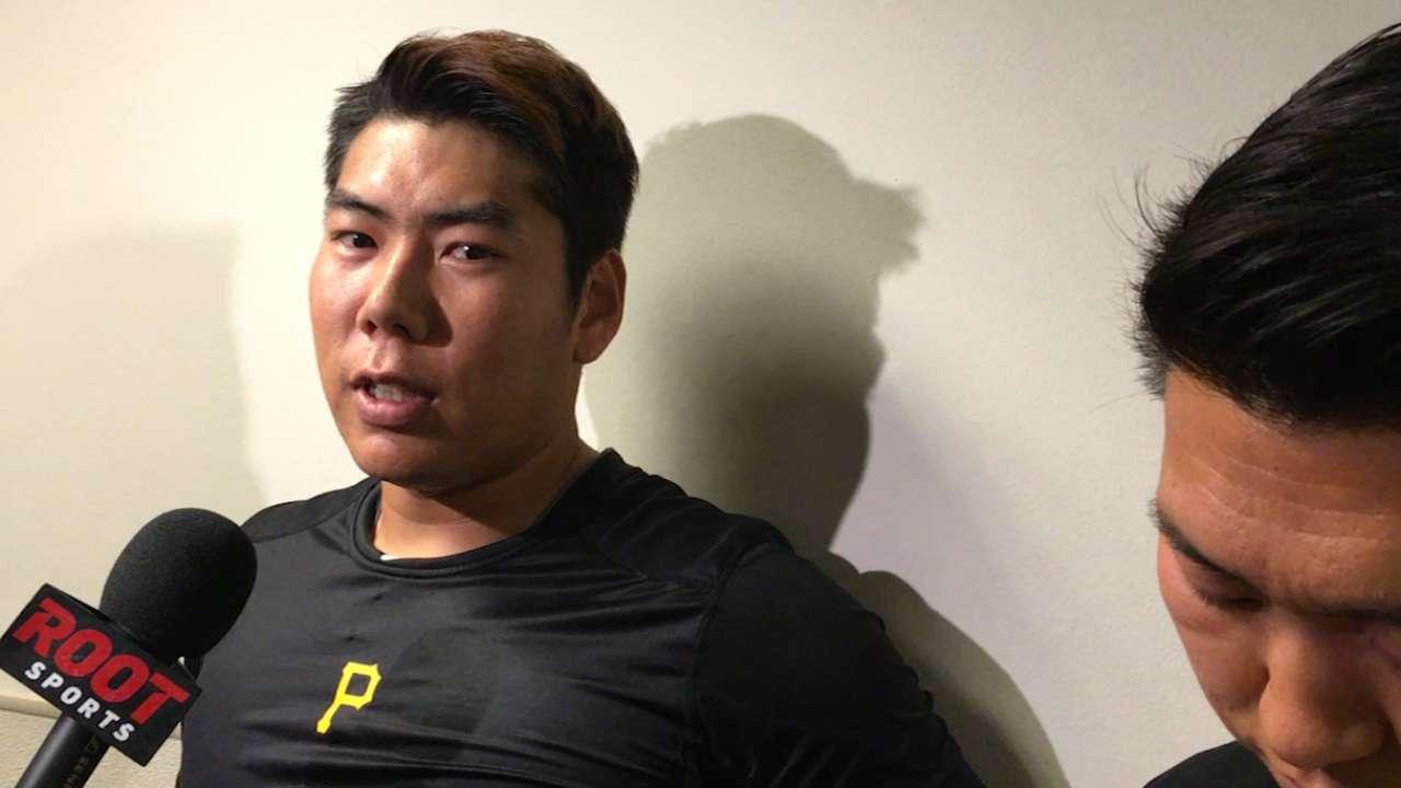 Kang on his season debut