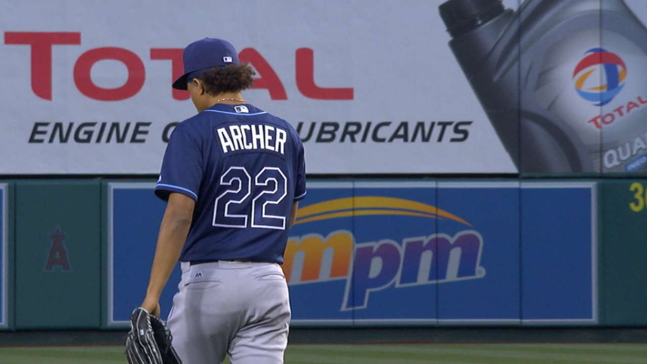 Archer's six scoreless innings