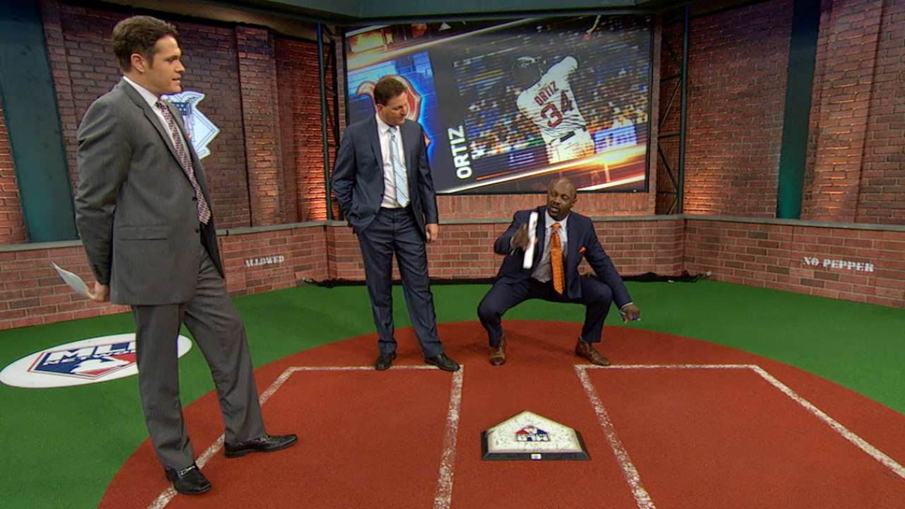 MLB Tonight: Ortiz's strikeout