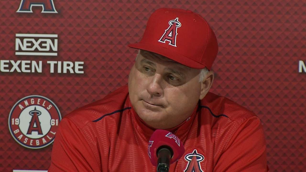 Scioscia still confident in Rasmus as starter